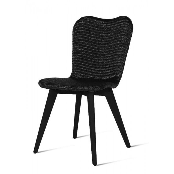 Lily Black Wood Nordic Style