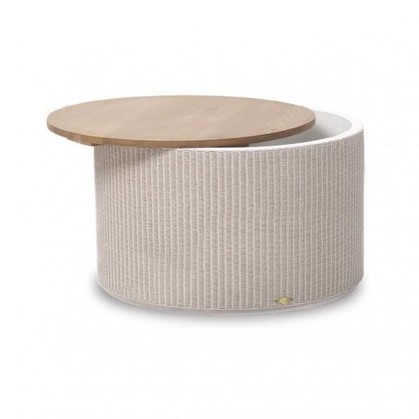 Rondo 60 Oak Top Storage Table