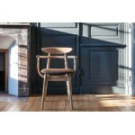 Teo Oak Armchair Upholstered - Sofas & Chairs