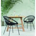 ROXANNE DINING CHAIR - Scandinavian Outdoor Dining Chair